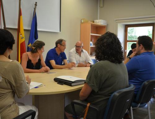 Firma de nuevos contratos para subvenciones LEADER en la Comarca
