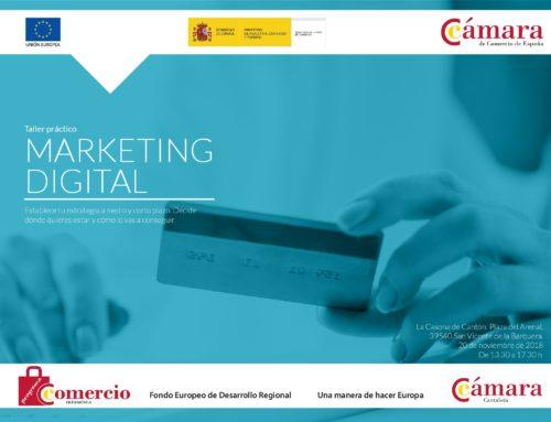 Taller práctico gratuíto de Marketing Digital