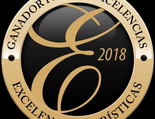 GEOTOUR SAJA-NANSA premio EXCELENCIAS TURÍSTICAS 2018