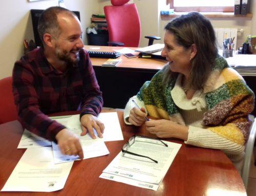 Coordinación con Oficina Técnica de Sostenibilidad Ambiental de la Red Cántabra de Desarrollo Rural