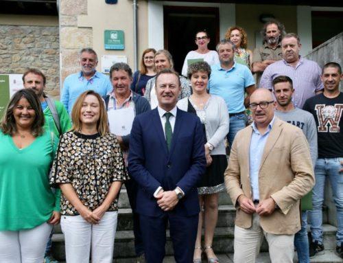 Firma de la ayuda a 11 nuevos proyectos LEADER en la Comarca Saja Nansa que consolidan 19 puestos de trabajo
